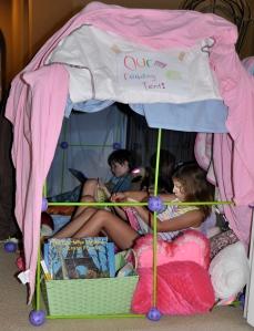 summer reading tent2013