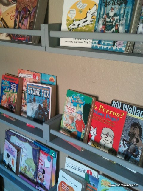 Raising Summer Readers Tip 8 Create An Open Faced Book Display Somewhere In Your House