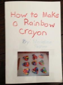 how to make a rainbow crayon